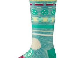 SmartWool Girls Dotty Dot Crew Socks