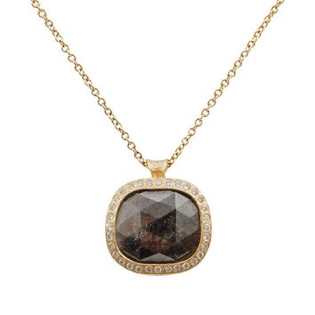 Todd Reed Fancy Diamond Pendant Necklace