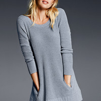 NEW! Ribbed Scoop-back Tunic