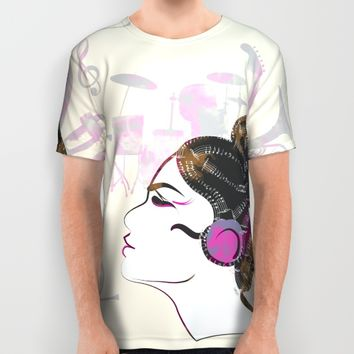 Music Overdose All Over Print Shirt by Famenxt | Society6
