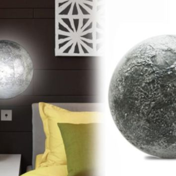 LED Night Light Healing Moon Bedroom Decor Romantic Wall Lamp Remote Control