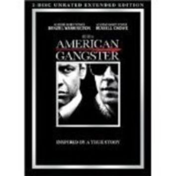 American Gangster 2 disc unrated extended edition Denzel Washington Russell Crow