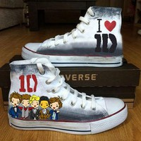 One Direction Custom Converse !!!