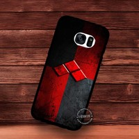 Symbol Logo Harley Quinn Suicide Squad Movie - Samsung Galaxy S7 S6 S5 Note 7 Cases & Covers