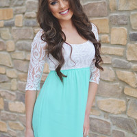 Closet Candy Boutique · Sweet on Sugar Dress - Mint