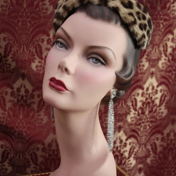 Vintage Rare 40s Mannequin Head Bust by Famous by fantasyofjewels