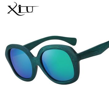 New Fashion Products Men Women Glass Bamboo Sunglasses Retro Vintage Wood Polarized Lens Wooden