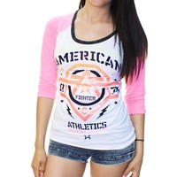 American Fighter Women's New Mexico 3/4 Raglan Graphic T-Shirt