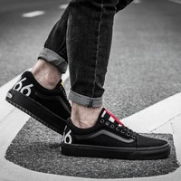 VANS 1966 OLD SKOOL Black  Sneaker Casual Shoes
