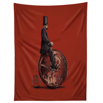 Eric Fan Penny Farthing Tapestry