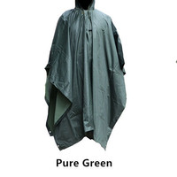 Mens Rain Poncho In The Style of Bruce Willis in Unbreakable.