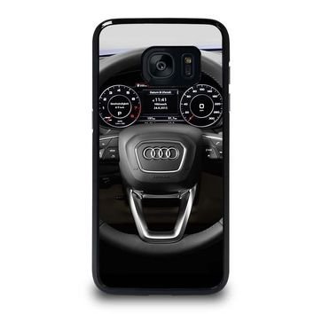 AUDI STEERING SPEEDOMETER Samsung Galaxy S7 Edge Case Cover