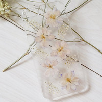 Handmade Real  Natural Pressed Flowers iphone 6 6 plus case iphone 4s 5 5s 5c case cover Samsung galaxy s5 note2 note3 note 4 case cover