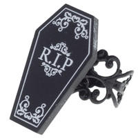 CURIOLOGY COFFIN RING