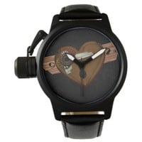 Grunge Steampunk Heart Watch