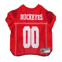 Mirage Pet Products Sports Dog Apparel Ohio State Buckeyes Pet Jersey Costume Outfit Small