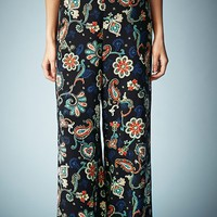 Kate Moss for Topshop Paisley Wide Leg Pants