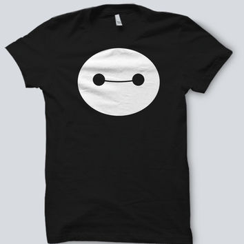 Big Hero 6 Six - Baymax Smile DARK Tee Shirt