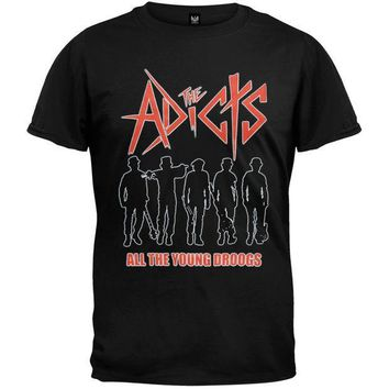 PEAPGQ9 The Adicts - All The Young Droogs T-Shirt