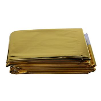 210 x 160cm Waterproof Emergency Rescue Blanket Foil Thermal