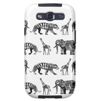 graphic zoo samsung galaxy SIII cover from Zazzle.com
