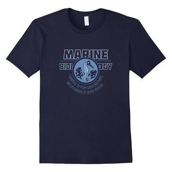 College Major Marine Biology | Funny College Humor T-shirt