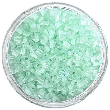 Soft Green Chunky Sugar