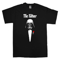 the darth father T-shirt unisex adults