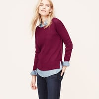 Textural Front Sweater