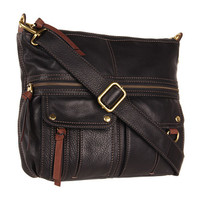 Fossil Morgan North/South Top Zip Black - Zappos.com Free Shipping BOTH Ways