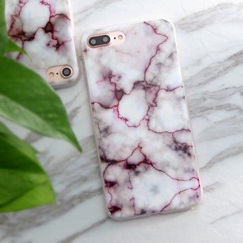 Granite Scrub Marble Stone Image Painted Soft TPU Back Cover Case for iPhone 5 5s SE 6 6s 6 Plus 6s Plus 7 & 7 Plus