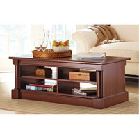 Walmart: Better Homes and Gardens Ashwood Road Coffee Table, Cherry Finish