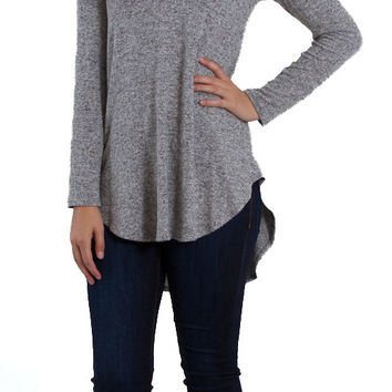 Freeloader Clothing Long Sleeve V-Neck Shirt for Women FT3672