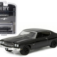 1970 Chevrolet Chevelle SS Black Bandit 1-64 Diecast Model Car by Greenlight