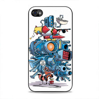 Say Hello To My Little Friend Rocket Racoon  iPhone 4/4s Case