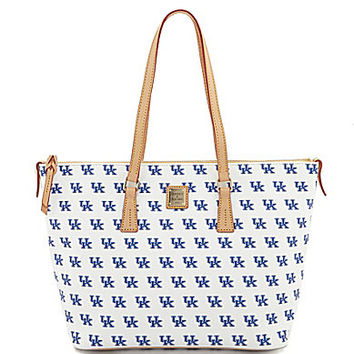 Dooney & Bourke University of Kentucky Shopper Tote - White