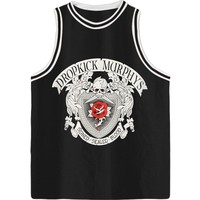 Dropkick Murphys Men's  Signed & Sealed Basketball  Jersey Black