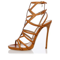 Dsquared2 Women Leather Sandals - Spence Outlet