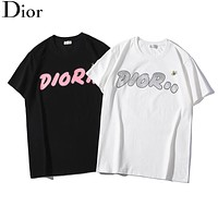 Dior x kaws joint series 2019 early spring new couple short-sleeved T-shirt