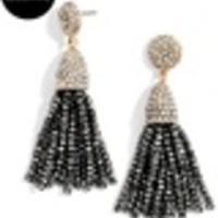 Mini Metallic Piñata Tassel Earrings
