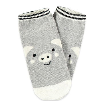 Pig Face Ankle Socks