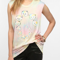 Urban Outfitters - UNIF Kitty Swirl Muscle Tee