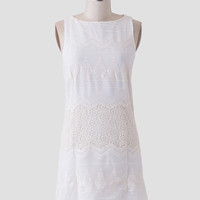 Pacific Crest Embroidered Dress