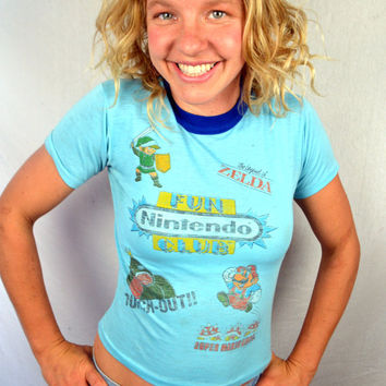 Rad 80s Nintendo Fun Club Shirt
