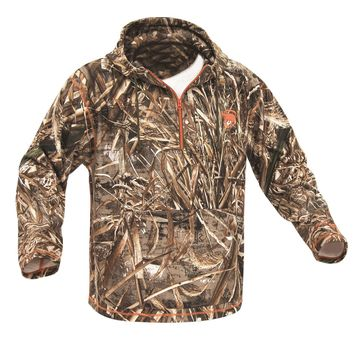 ArcticShield Midweight 1/4 Zip Hoodie-Realtree Max-5-M