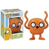 Adventure Time - Pop! Jake Vinyl Figure : Forbidden Planet