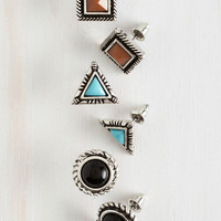 Boho Tantalizing Trio Earring Set by ModCloth