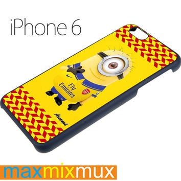 Minion Arsenal Fc iPhone 6/6+ Series Hard Case