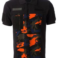 Givenchy Camo Print Polo Shirt
