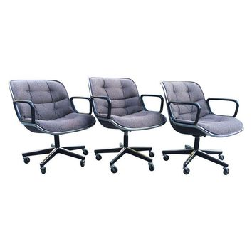 Pre-owned Charles Pollock Knoll Office Chairs (15 available)